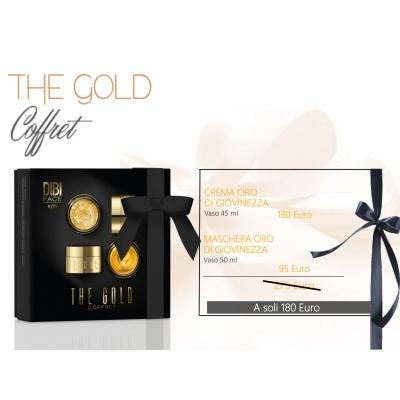 DIBI Milano kit  Coffret THE GOLD crema oro di giovinezza maschera oro di giovinezza