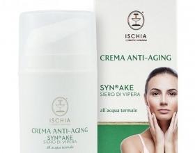 Ischia  Terme Ischia Cosmetici  Crema Anti-Aging Siero di Vipera