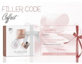 DIBI Milano kit  Coffret FILLER CODE crema miracle - fiale monodose