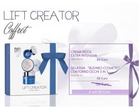 DIBI Milano kit  Coffret LIFT CREATOR crema ricca extra intensiva - celatina blefero contorno occhi 3 in 1
